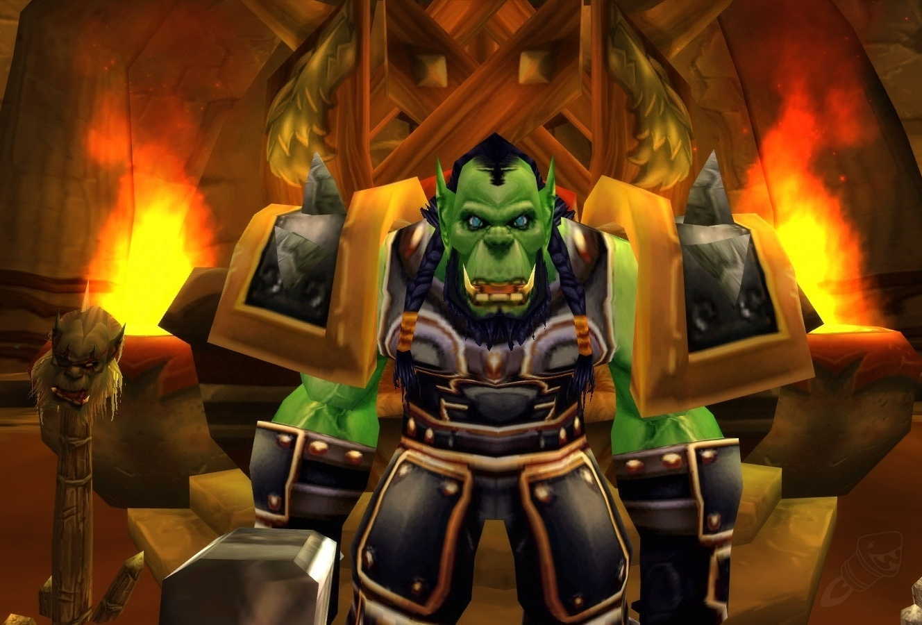 Hunch-less Orc Males  - World of Warcraft Forums