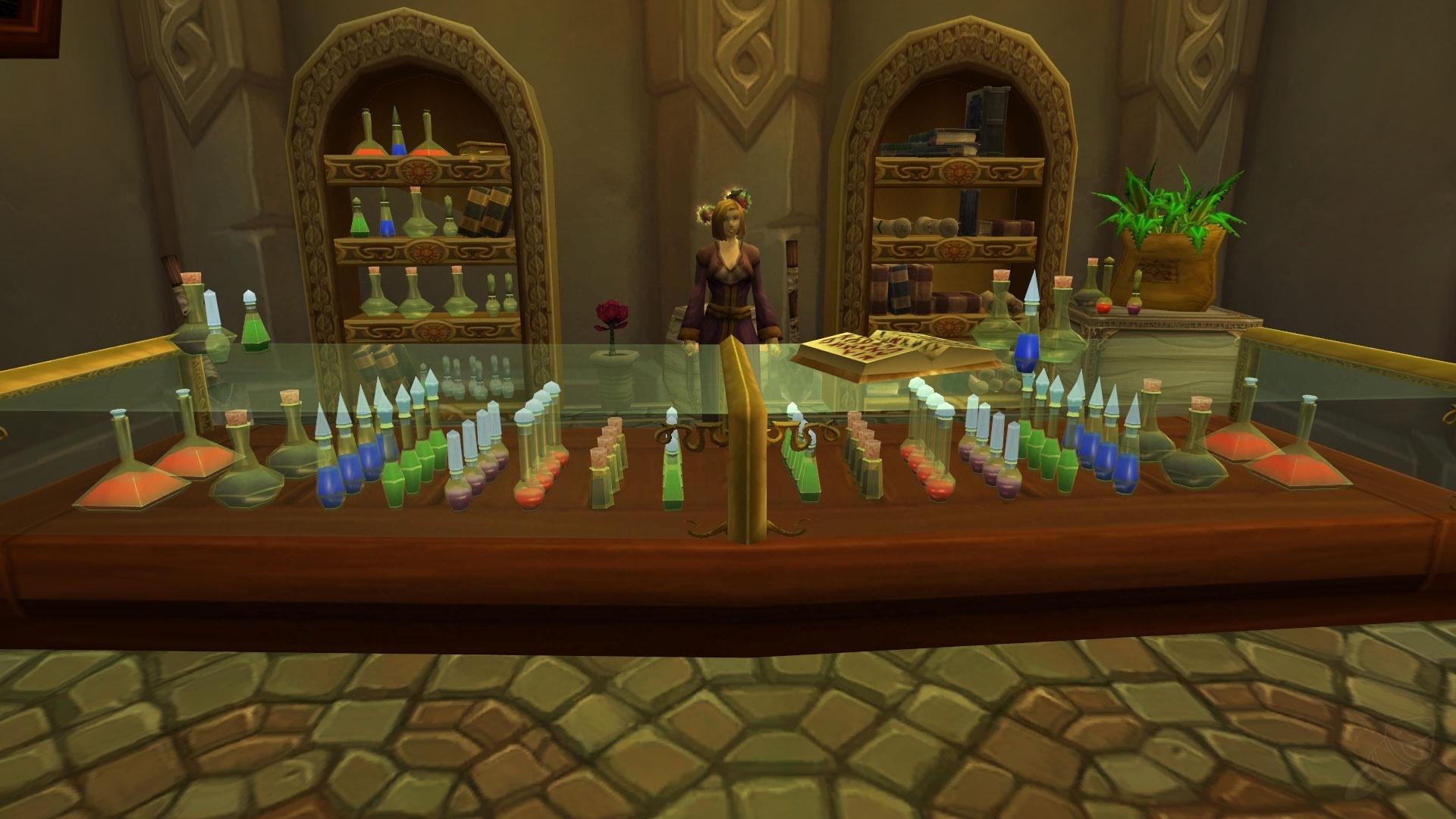 Как сделать банку в алхимии
