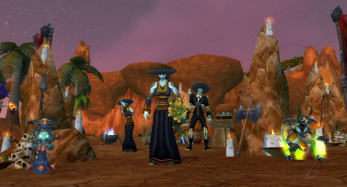 Day of the Dead - World Event - World of Warcraft