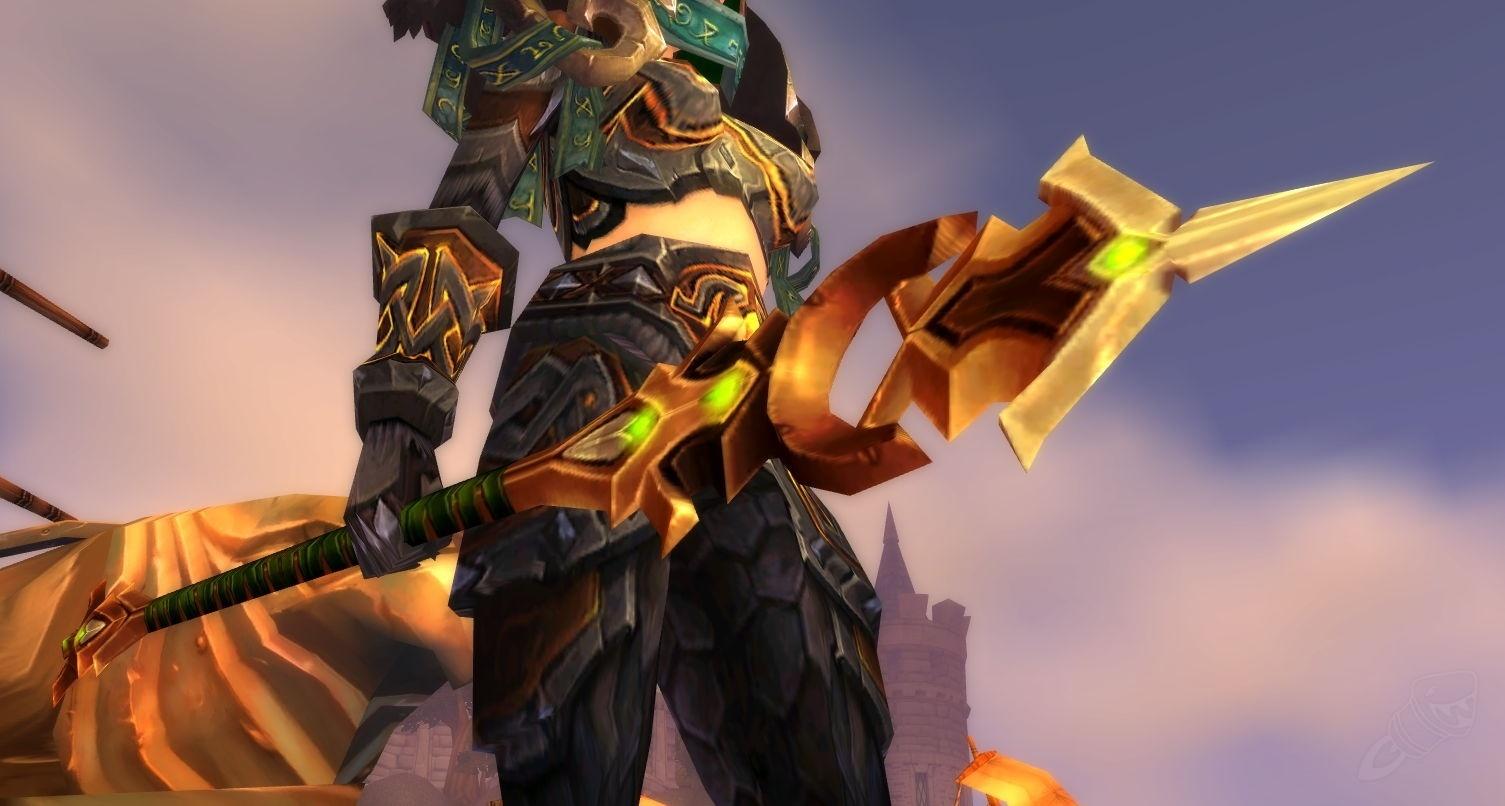 Promo Warspear Terbaru 2018 Ftale Lance Black Taupe Pantofel Kulit Pria Hitam  Berkualitas Scourge War Spear Item World Of Warcraft