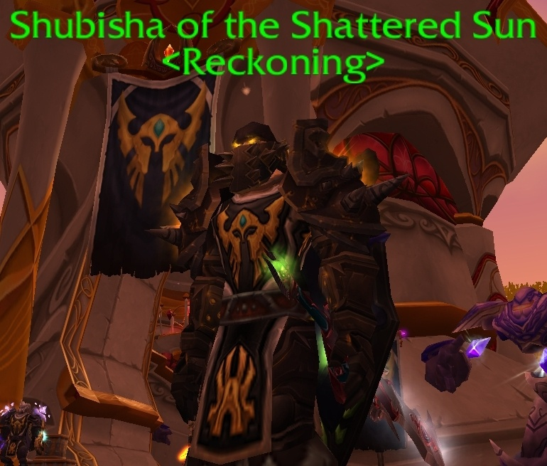 wow how to get rep with the shattered sun
