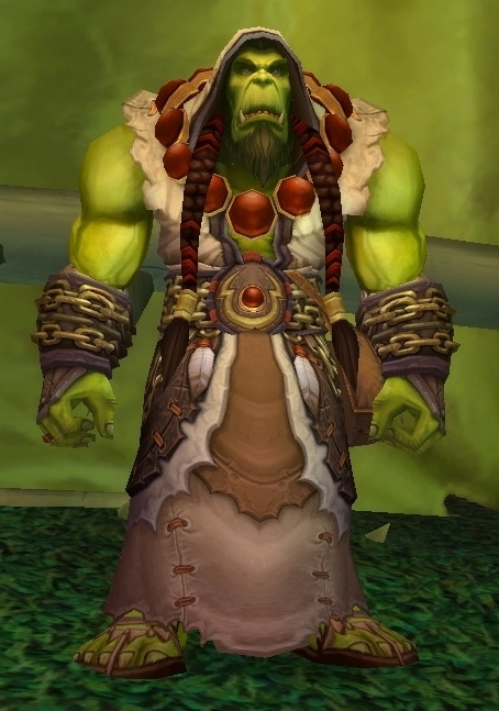 Orc Wow New Model Garrosh = New Orc play...