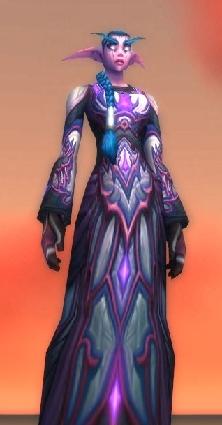 Queen Azsharas Dressing Gown Spell World Of Warcraft