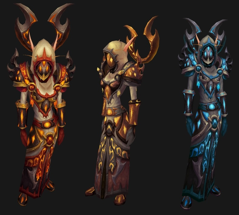In regards to old transmog sets and missing set pieces : wow
