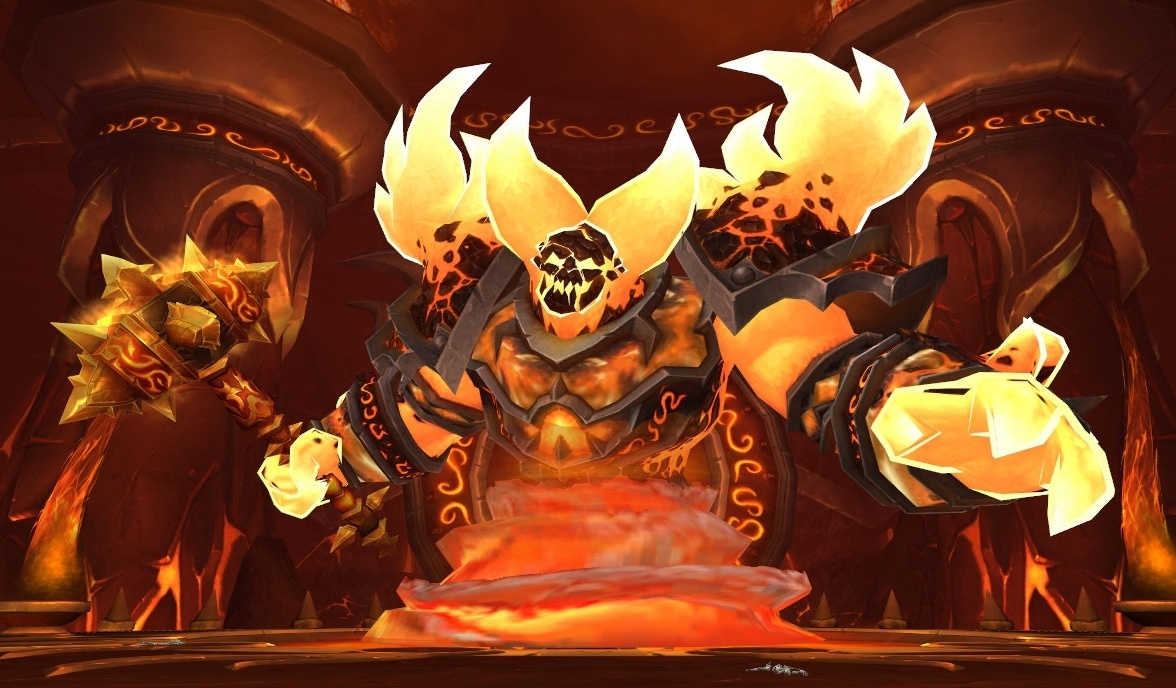 Ragnaros (Molten Core and Firelands End Boss)
