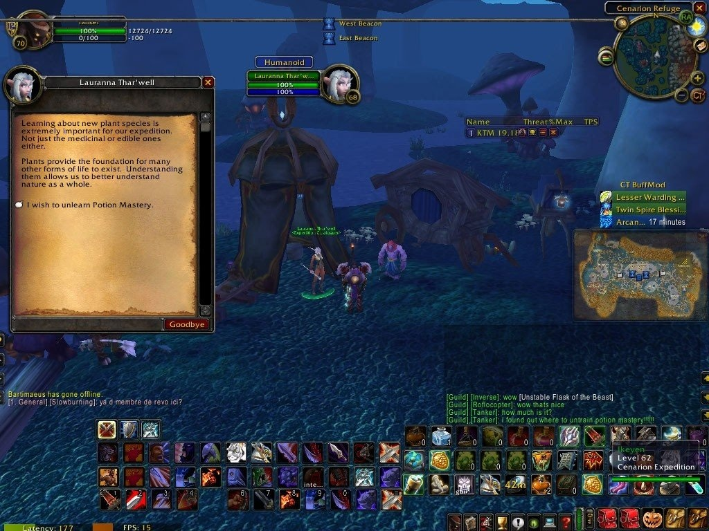 Unlearn Potion Mastery Spell World Of Warcraft
