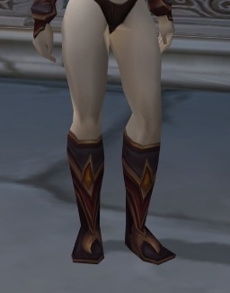 Warcraft Of World Gegenstand Der Stiefel Schwarzen Flamme lKJc1TF3