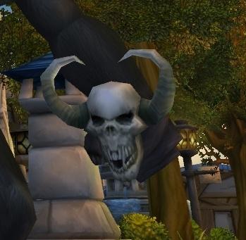 demonic skull item world of warcraft