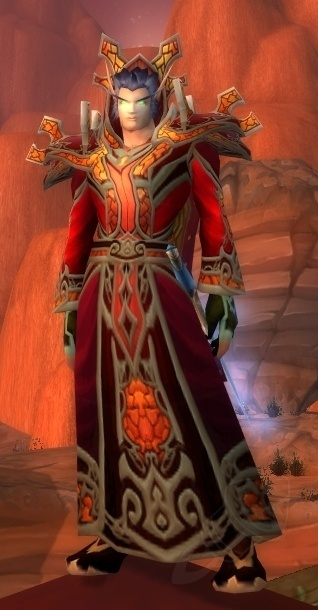 I Need A Really Deep Rich Bood Red Cloak For Transmog Any