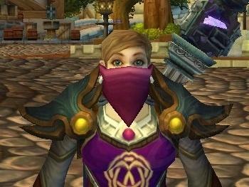 Masque blanc de bandit