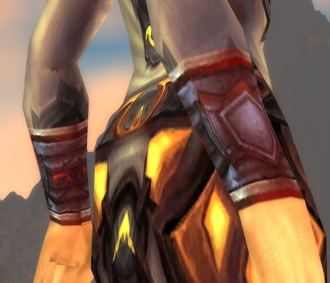 Bracers Of Unrelenting Excellence