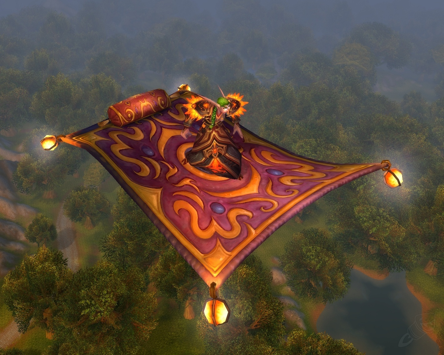Alfombra Voladora Magn 237 Fica Hechizo World Of Warcraft