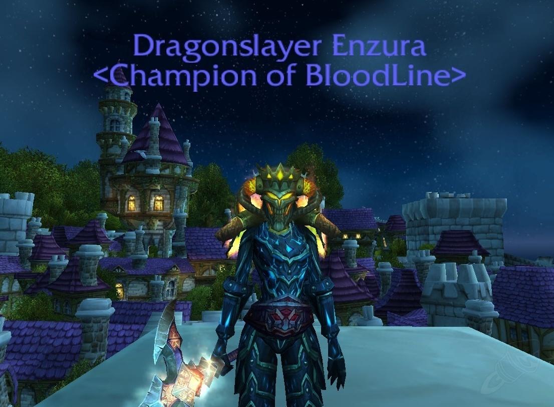Dragonslayer %s - Title - World of Warcraft