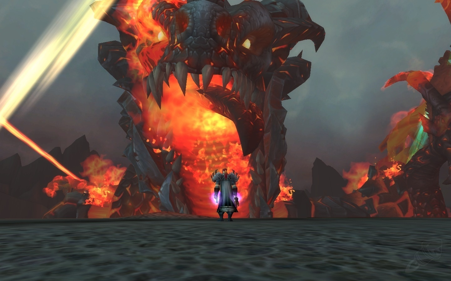 Deathwing Wow F... Deathwing Fight