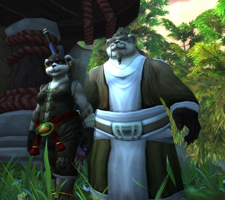 Pandaren - Race - World of Warcraft