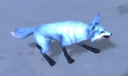 battle pets - arctic fox kit