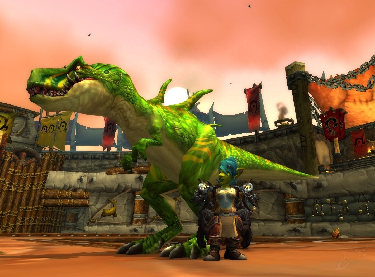 Devilsaur Hunter Pet World Of Warcraft