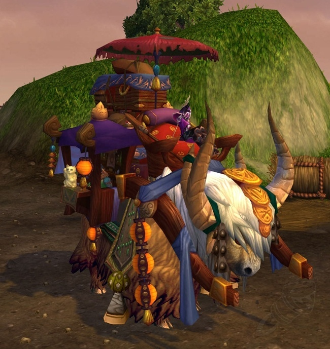 Reins Of The Grand Expedition Yak Item World Of Warcraft