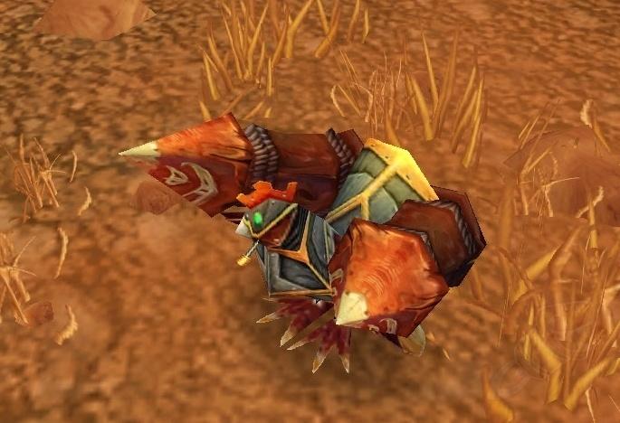 WoW World of Warcraft TCG Loot Card Robotic Homing Chicken Rocket Chicken PET