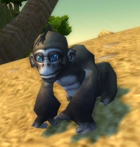 battle pets - baby ape