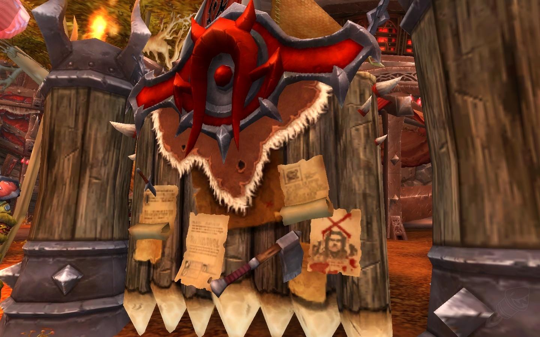 Tableau de commandement du chef de guerre - Entité - World of Warcraft