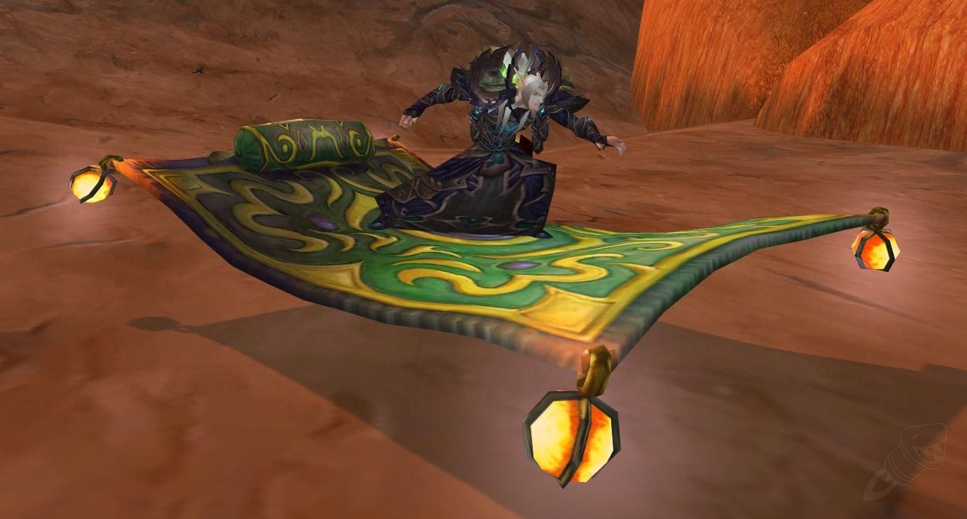 Flying Carpet Spell World Of Warcraft