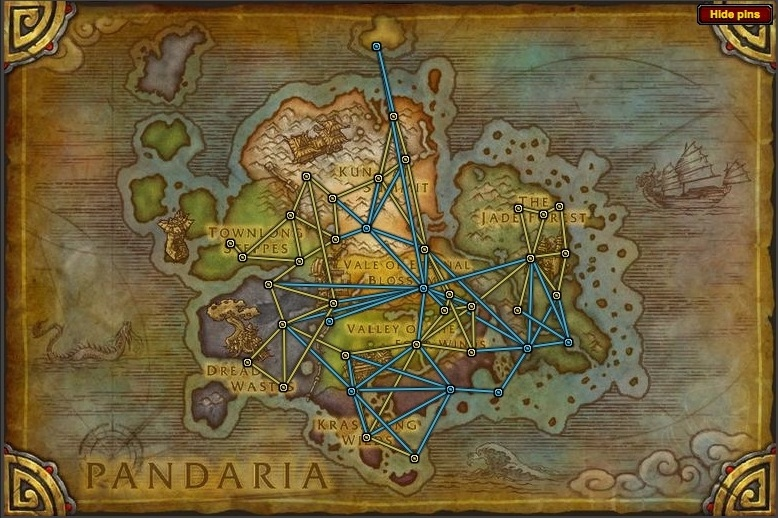 Pandaria Zones World Of Warcraft