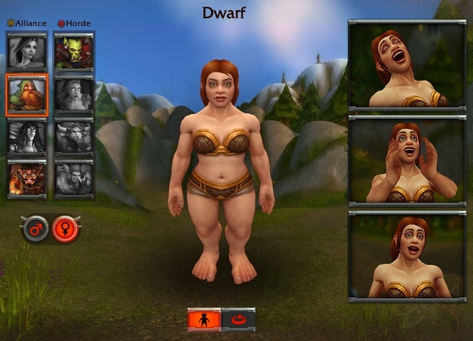 New Female Dwarf Model On Warlords Of Draenor Site Wowhead News