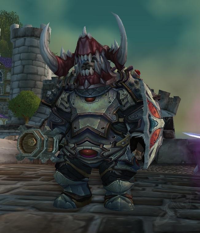 Haunted Steel Headguard Item World Of Warcraft