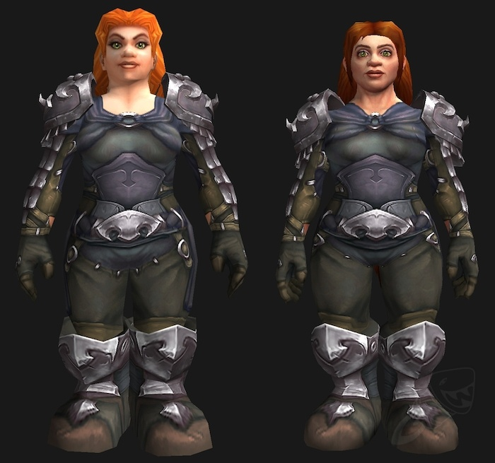 new female dwarf models