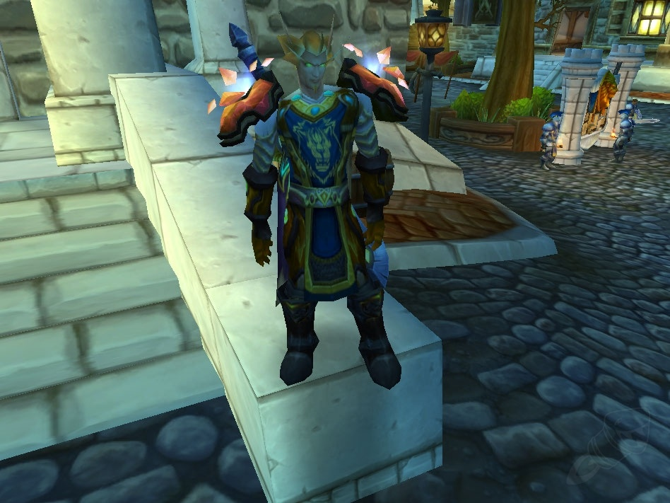 Pauldrons Of The Vanquished Champion Item World Of Warcraft