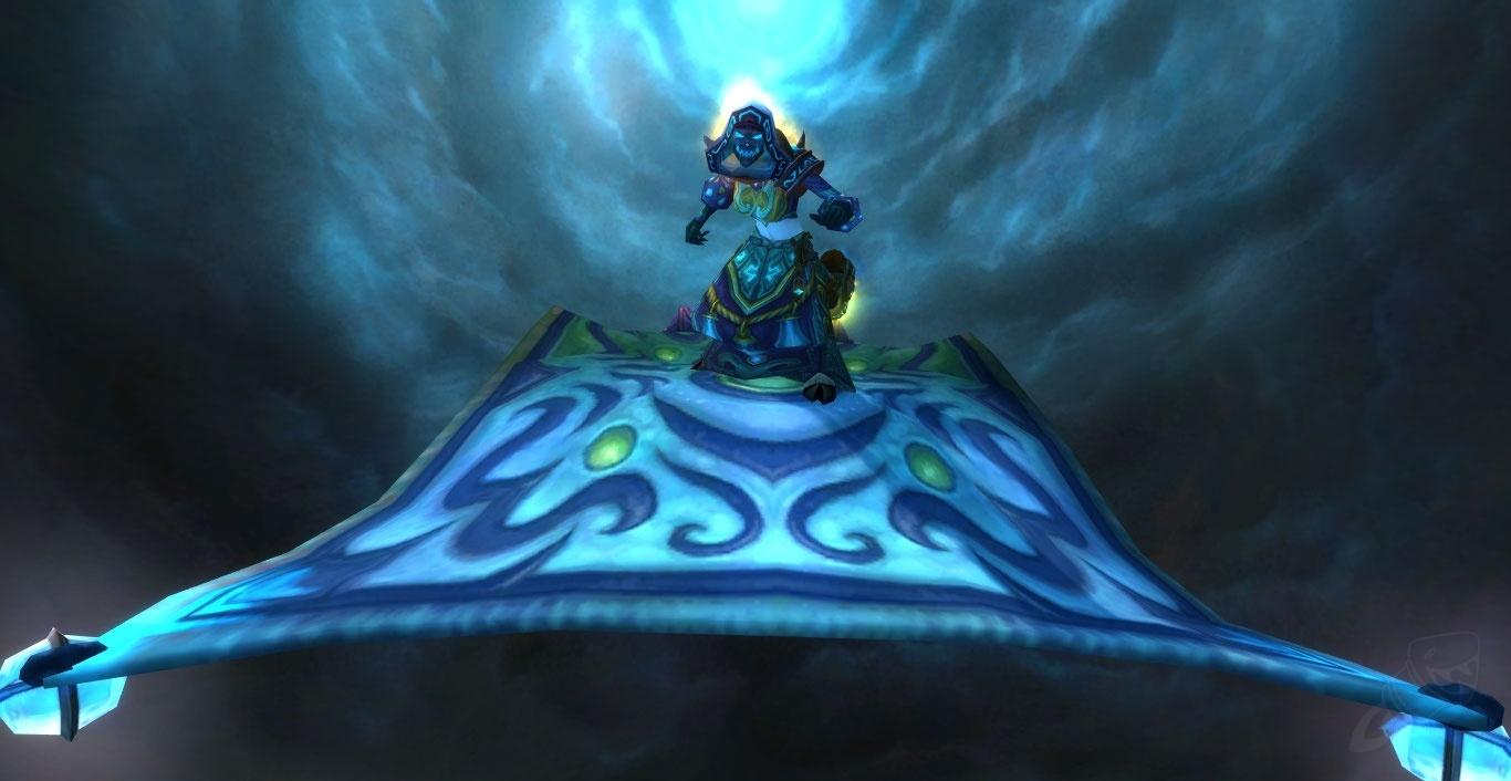 Pattern Frosty Flying Carpet Item World Of Warcraft