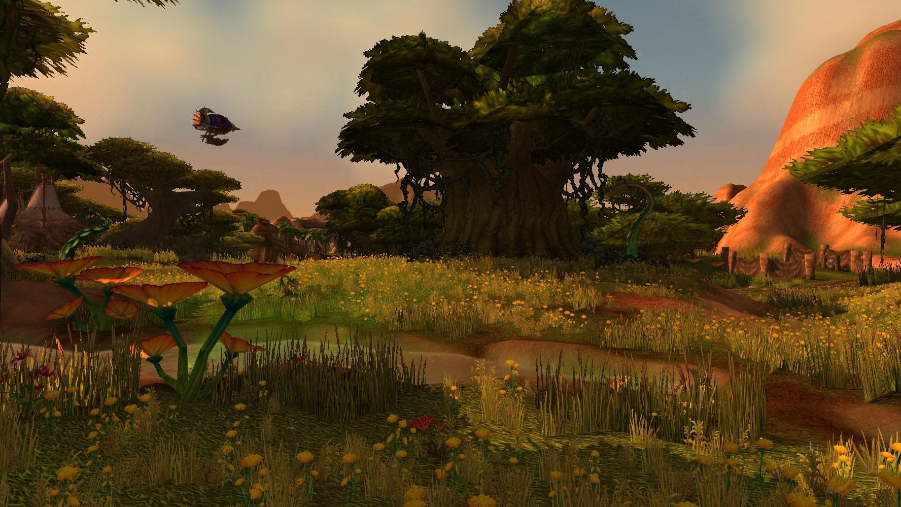 Southern Barrens Zone World Of Warcraft