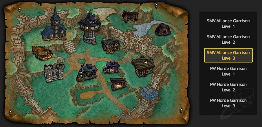 Garrison buildings costs unlocking blueprints and rewards garrison leveling info malvernweather Gallery