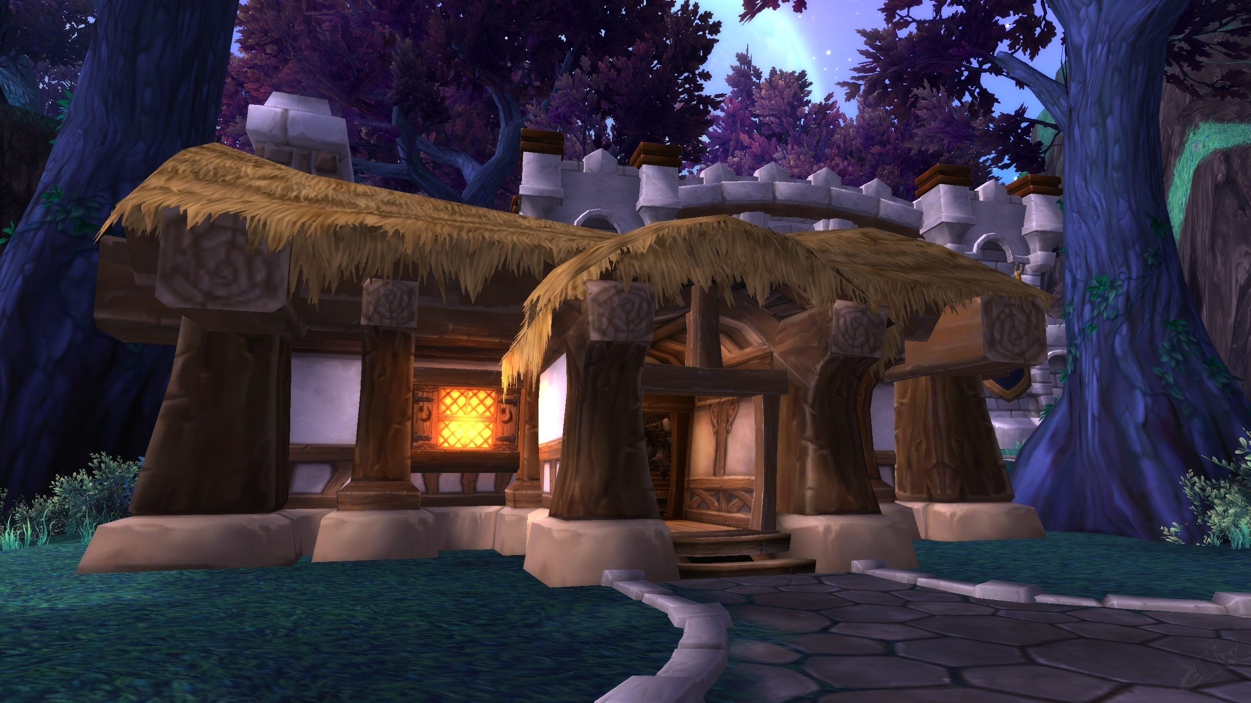 Guide to the garrison lunarfall inn frostwall tavern guides screenshots malvernweather Choice Image