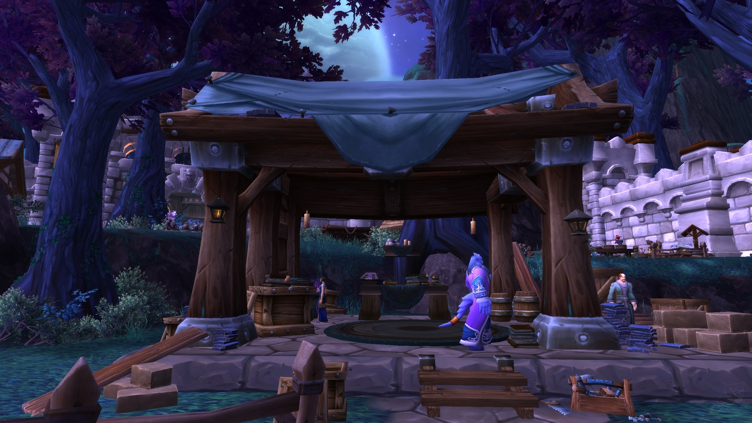WOW Garrison – Player housing in World of Warcraft