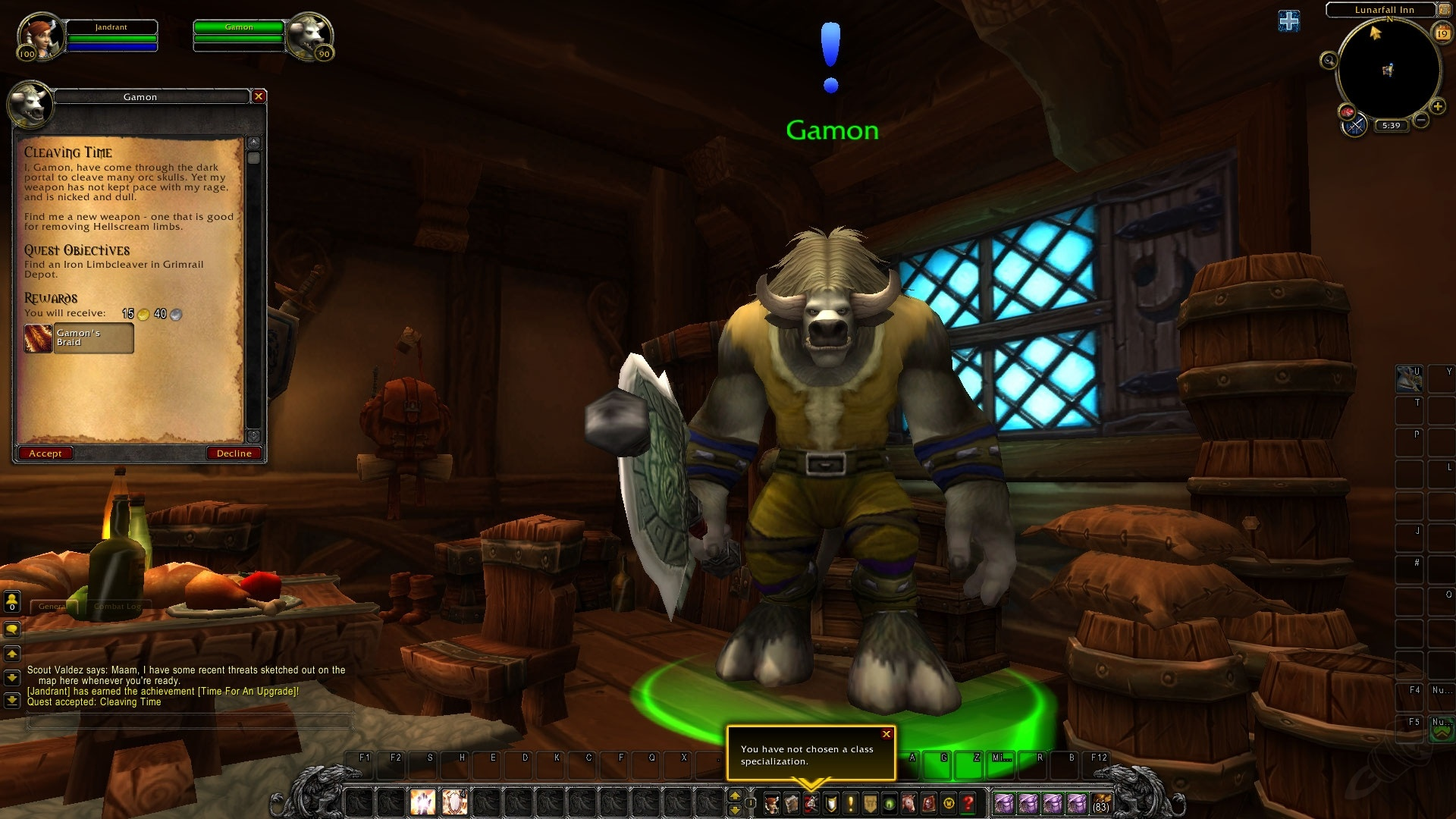 World of Warcraft's most-killed character finally gets his