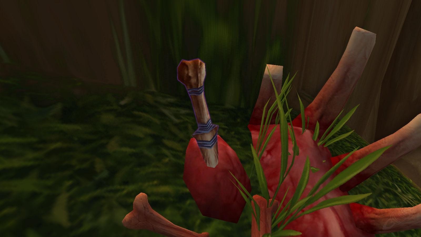 Nagrand Treasure 021 Bone Carved Dagger Quest World Of Warcraft