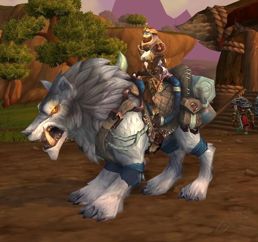 Frostwolf War Wolf - Spell - World of Warcraft