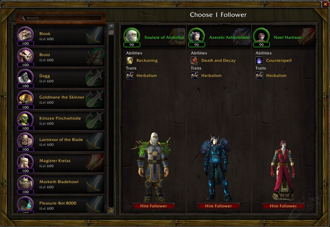 Guide to the garrison lunarfall inn frostwall tavern guides screenshots malvernweather Image collections