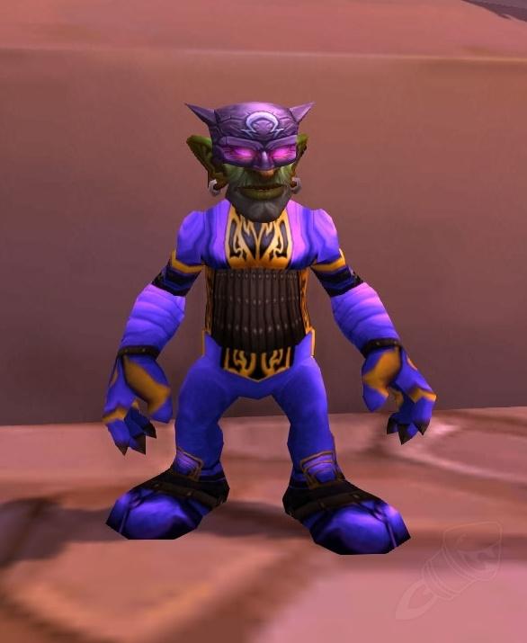 Teilnehmerkostüm Lila Phantom Gegenstand World Of Warcraft