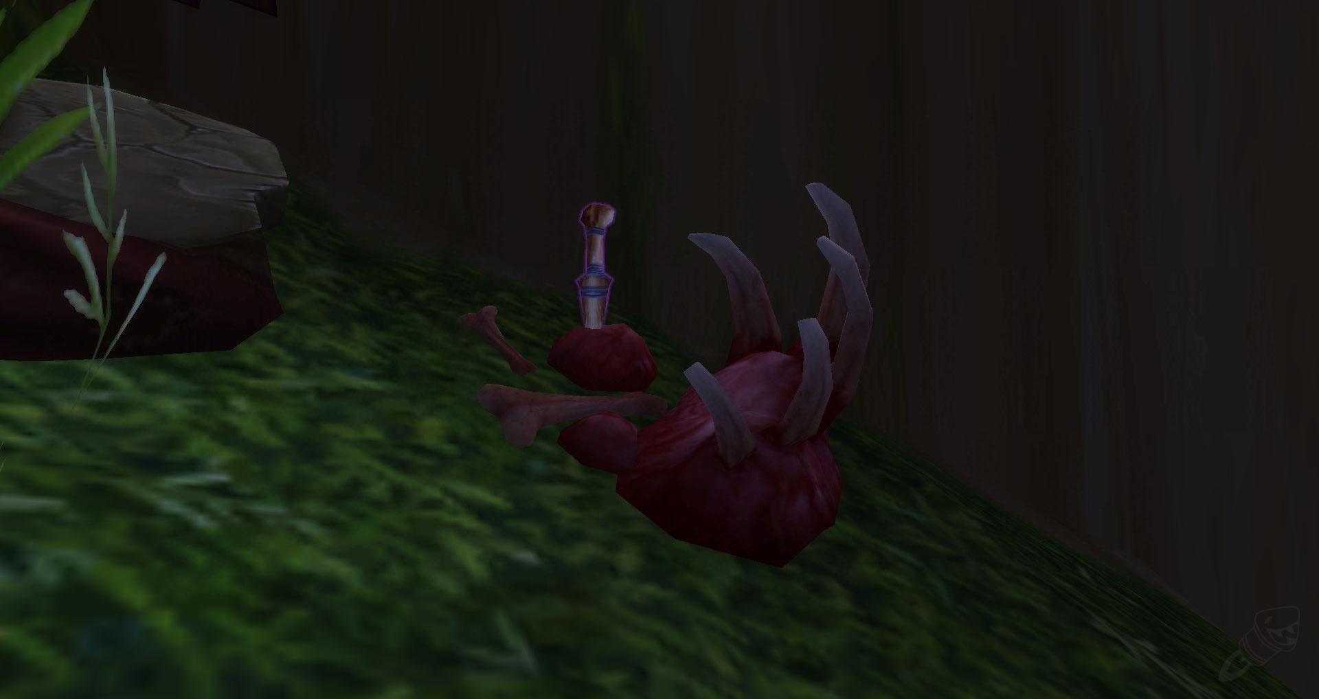 Bone Carved Dagger Object World Of Warcraft