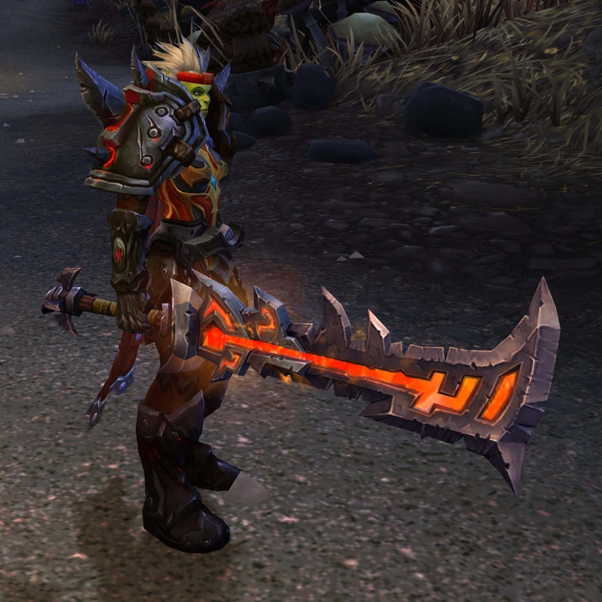 Weapons that match blood elf heritage armor? - General