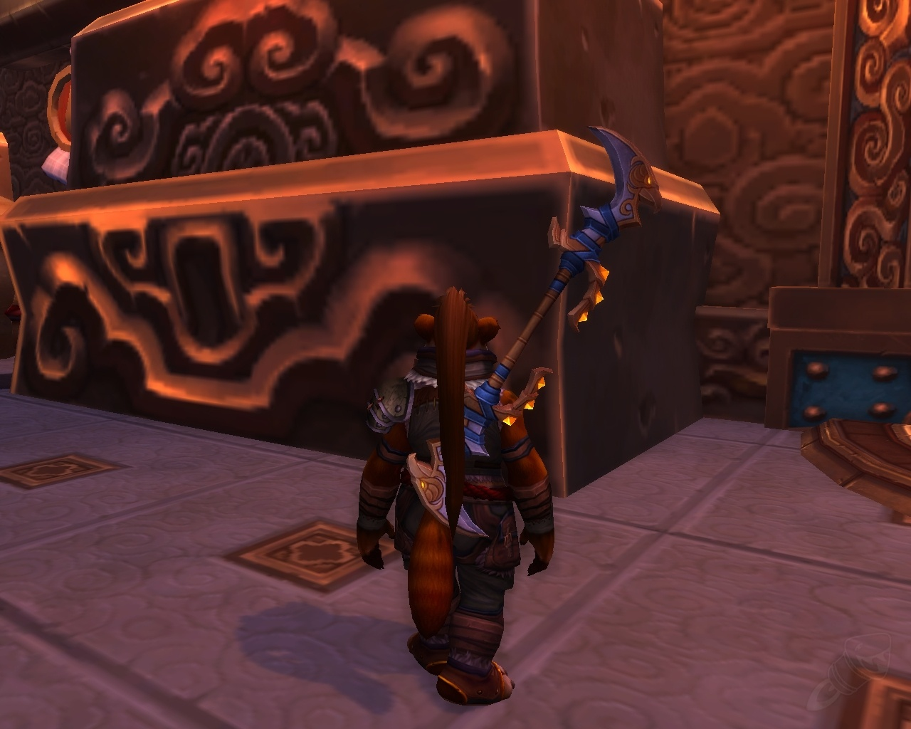 Staves will no longer be sheathed differently for monks wow a bit of a shame because its a cool weapon concept for monks but you hold it so close to the head that its totally unusable basically the mechanic is ccuart Images