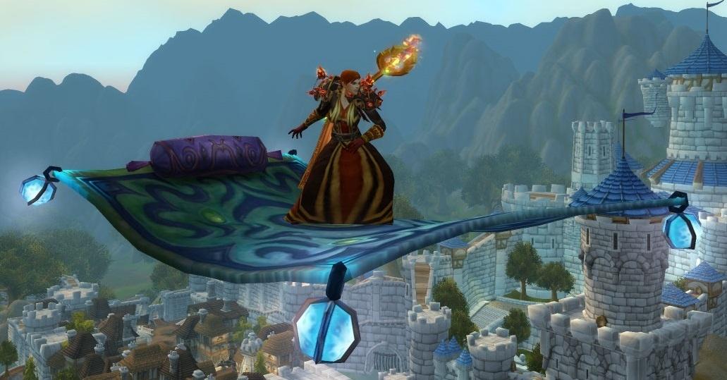 Frosty Flying Carpet Item World Of Warcraft