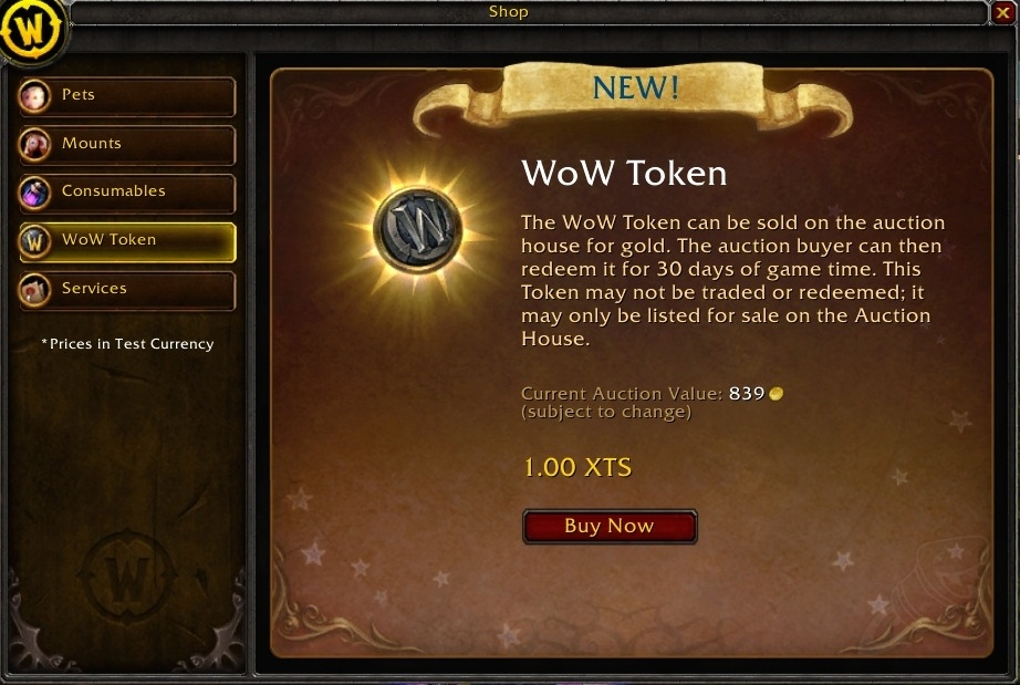 Guide to Obtaining and Selling the WoW Token - Guides - Wowhead