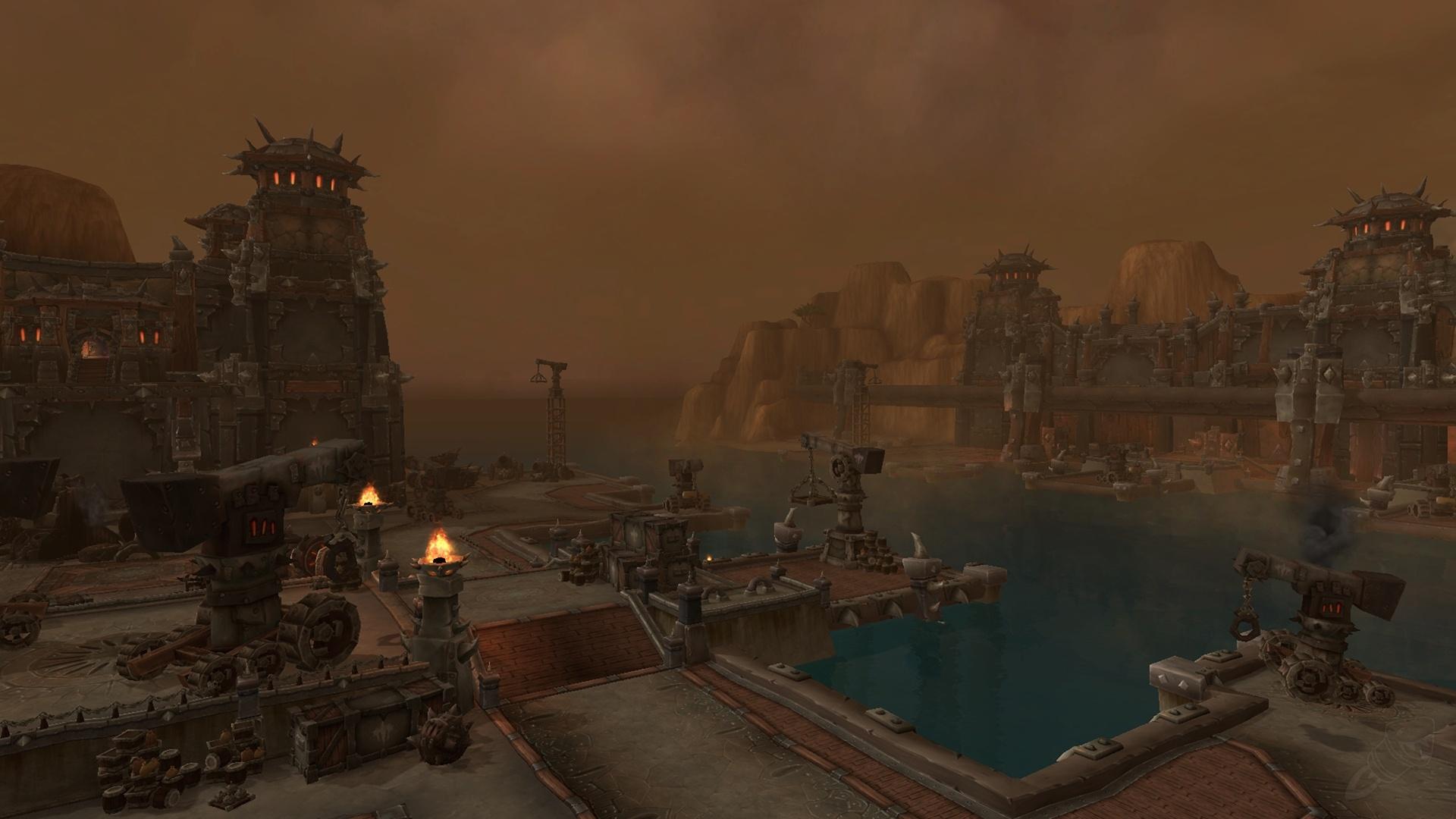 Iron Docks Zone World Of Warcraft