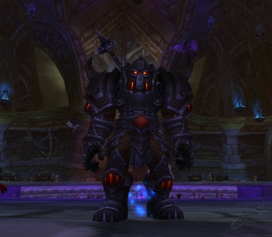 Orc or Tauren warrior?...
