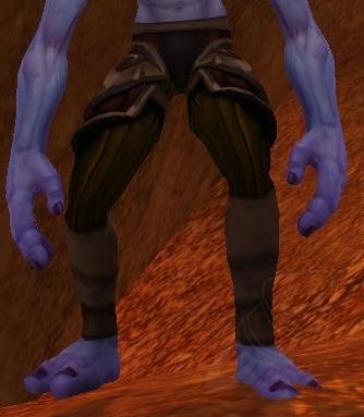 Ahn'Kahar Blood Hunter's Legguards - Item - World of Warcraft