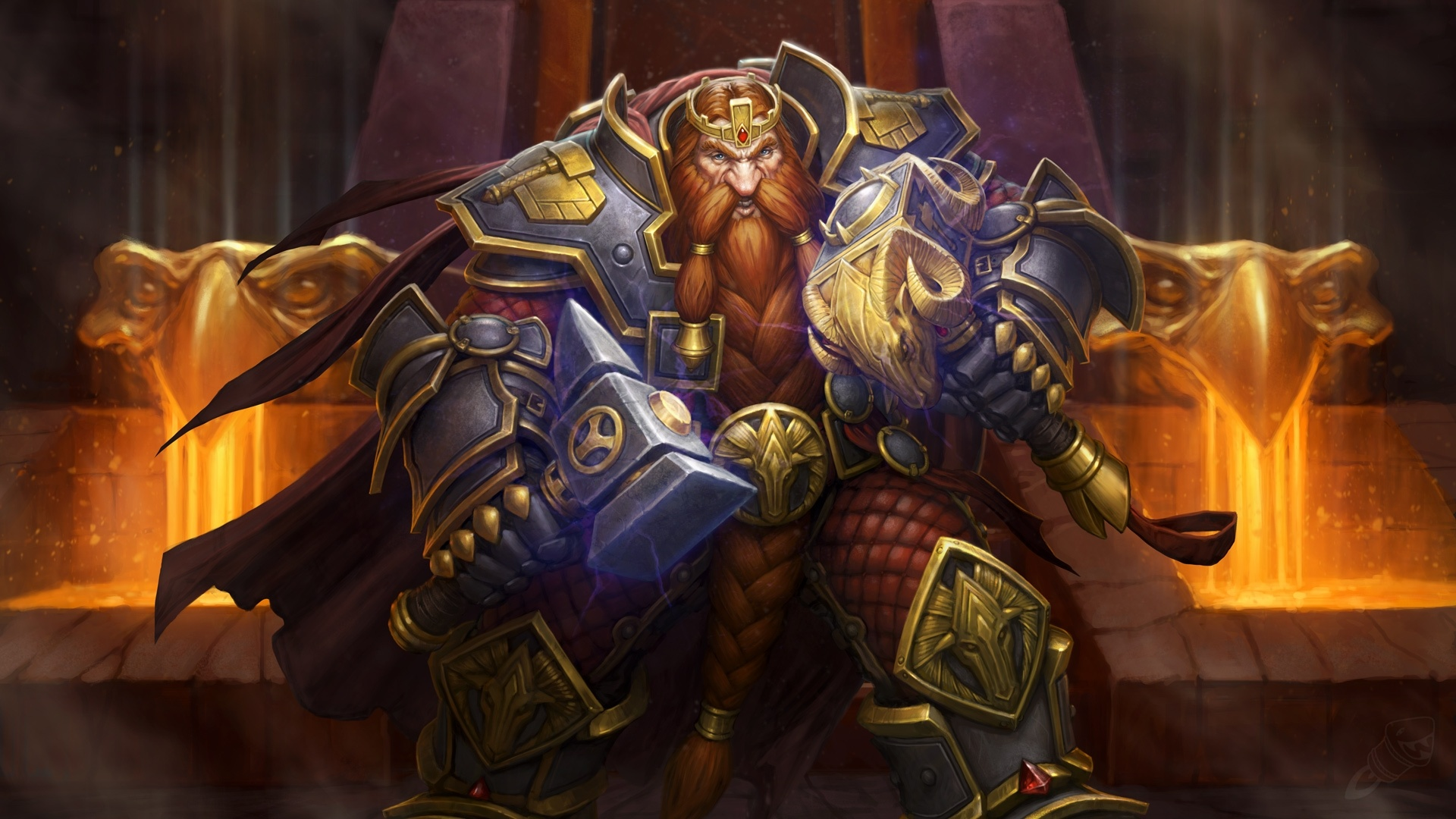 Looking for magni bronzebeard of another cool dwarf for Looking for wallpaper
